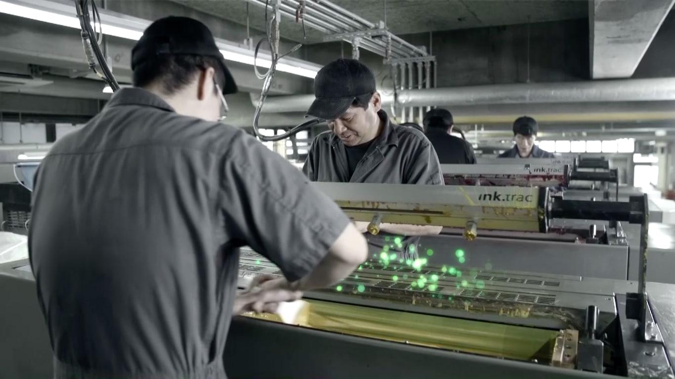 小西印刷所様の「90周年映像」を制作いたしました。