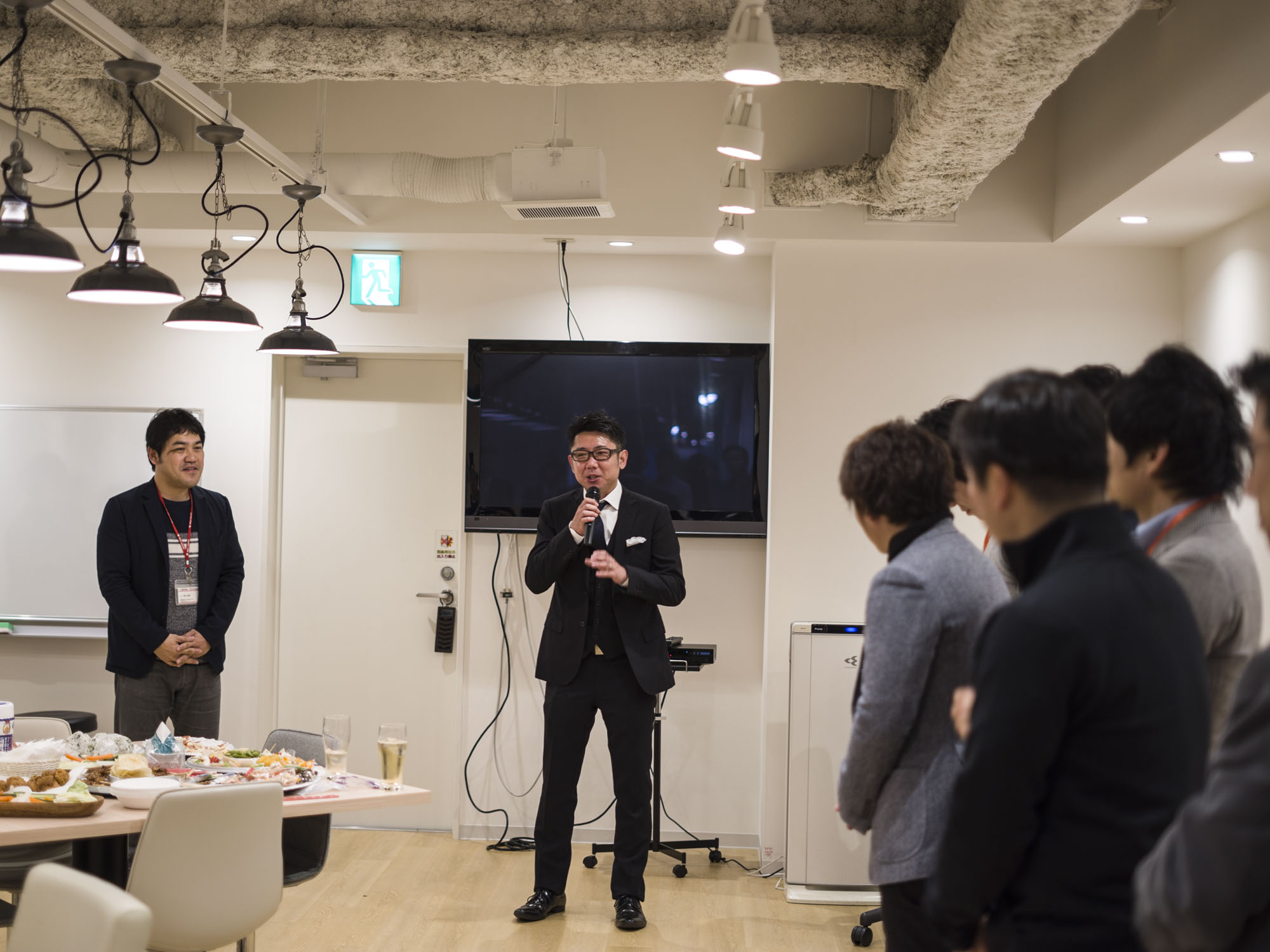 【感謝】新オフィスお披露目会の様子