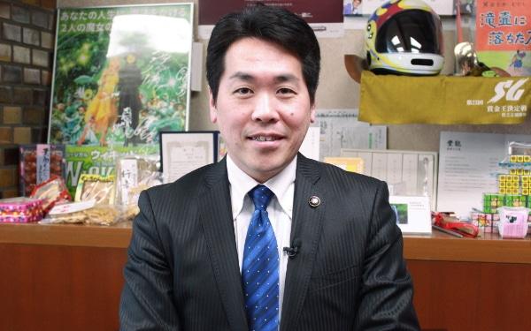 箕面市役所 倉田哲郎市長