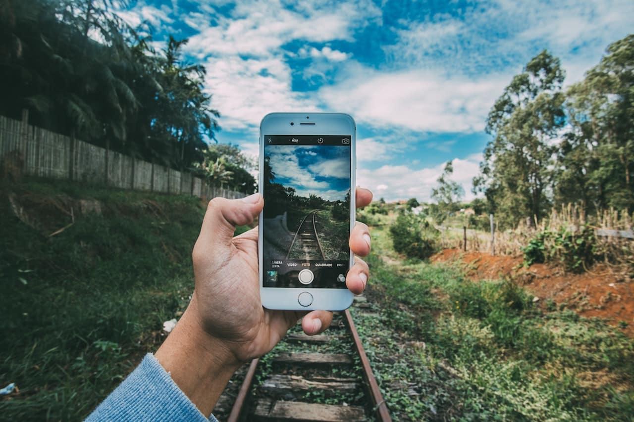 タイムラプスをiPhoneで撮影する2