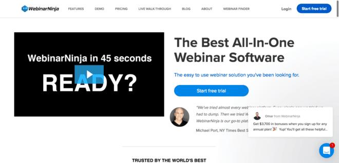 Web採用ツール3. WebinarNinja(ウェビナーニンジャ)