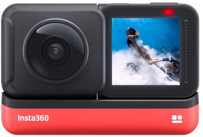 360度動画が撮れるカメラ②Insta360 ONE R