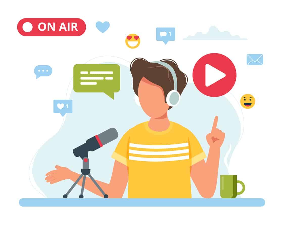 ラジオ配信アプリのおすすめ7選!顔出し不要で声だけの配信が可能